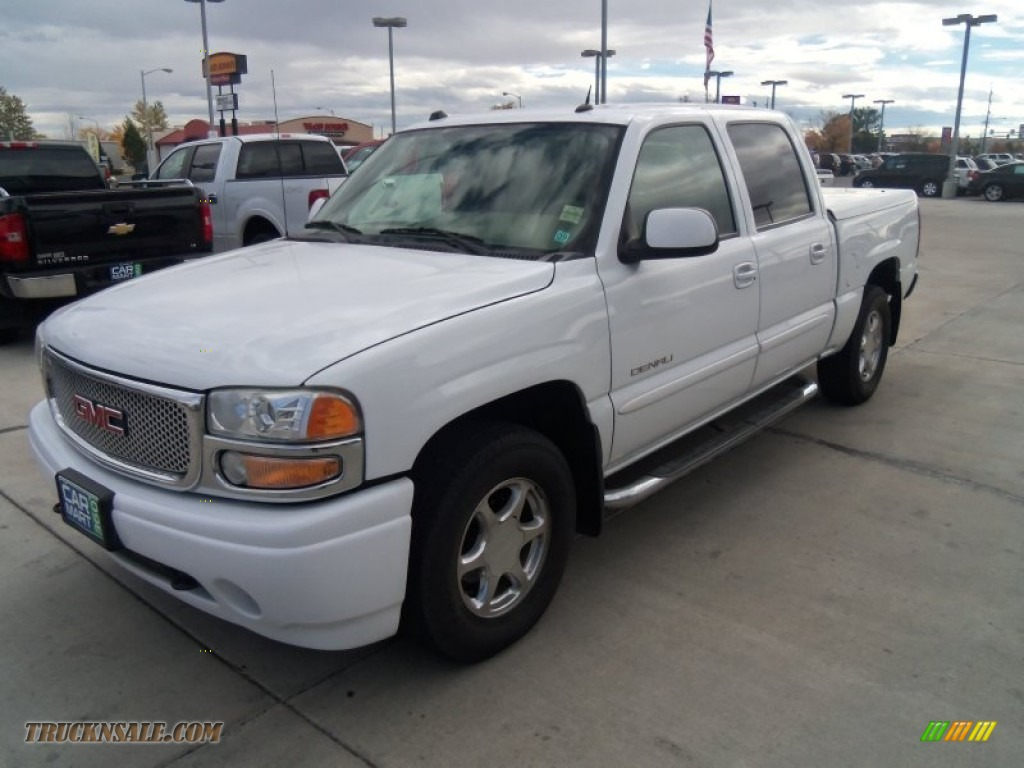 2005 gmc sierra 1500 denali crew cab awd in summit white for Steve white motors inc