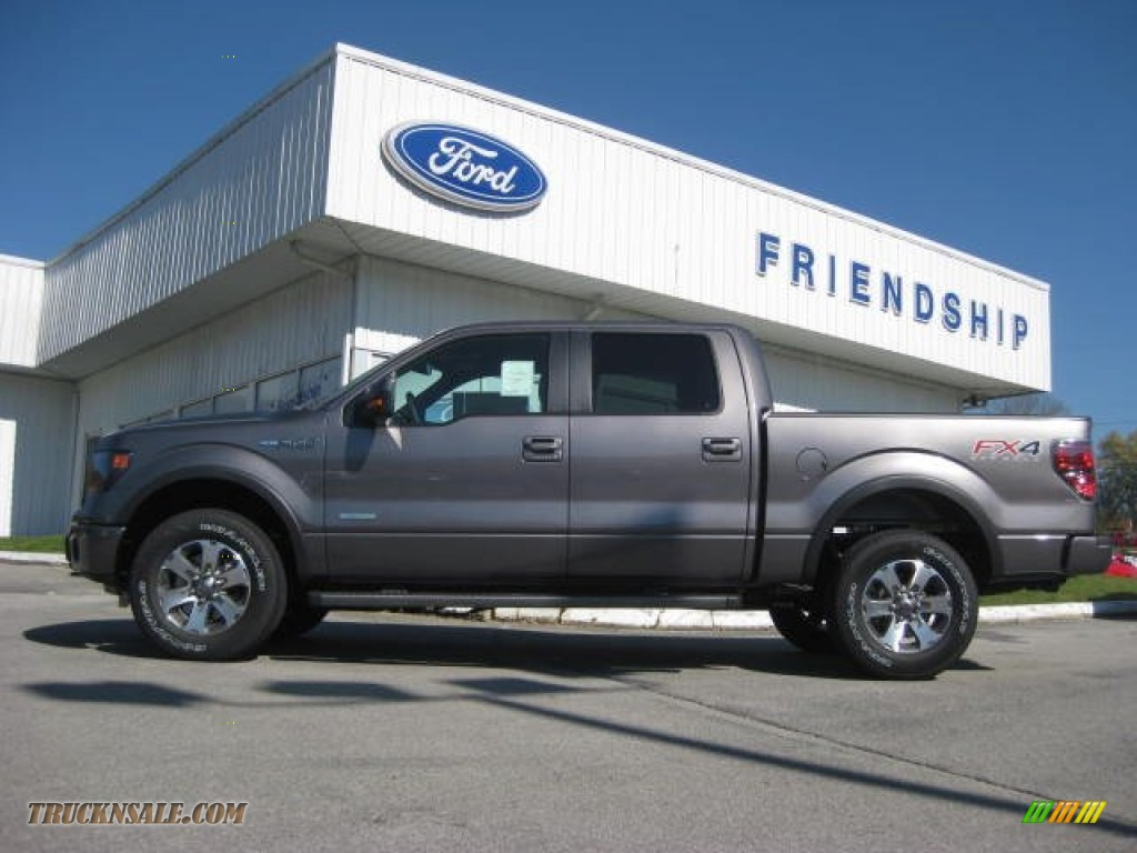 2013 ford f150 fx4 supercrew 4x4 in sterling gray metallic a03447 truck n 39 sale. Black Bedroom Furniture Sets. Home Design Ideas