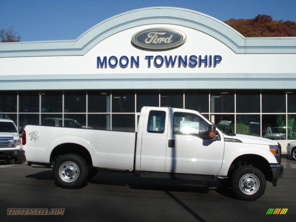 2012 Ford F250 Super Duty Xlt Supercab 4x4 In Oxford White