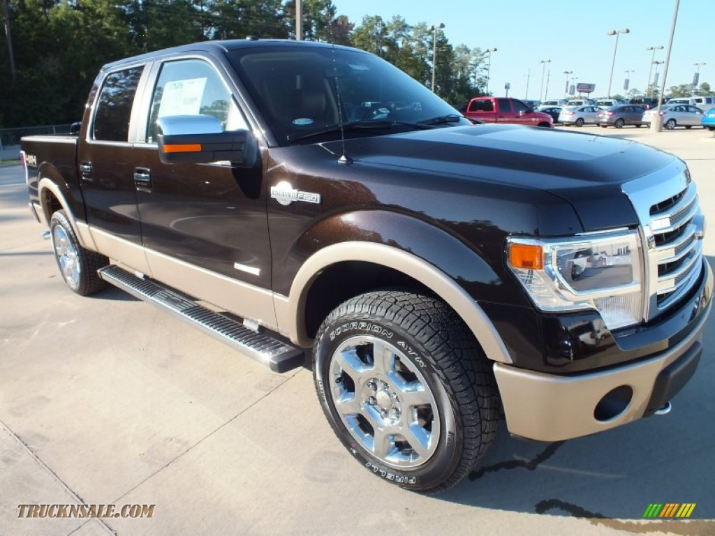 2013 F150 King Ranch SuperCrew 4x4 - Kodiak Brown Metallic / King Ranch Chaparral Leather photo #1
