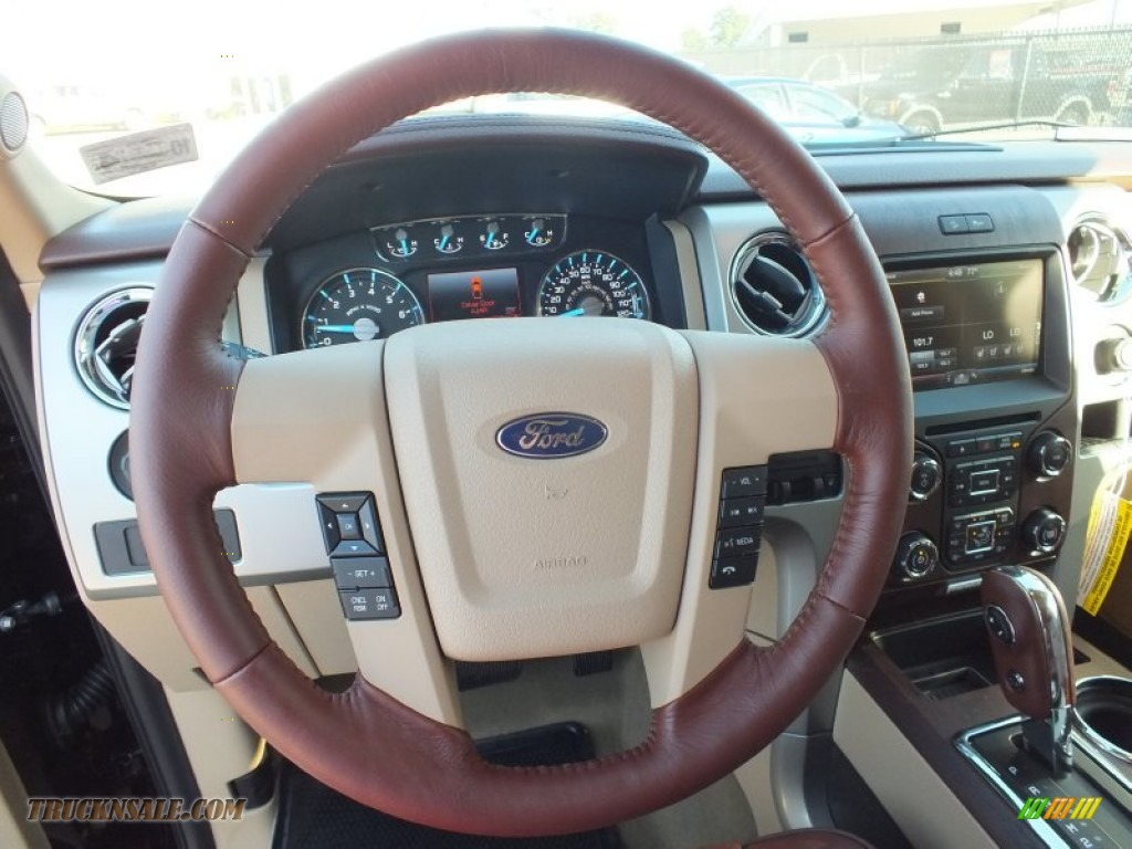 2013 Ford F150 King Ranch Supercrew 4x4 In Kodiak Brown