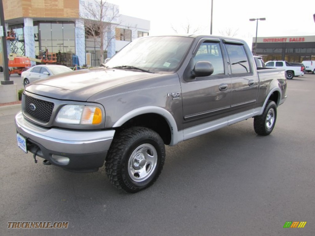 2002 ford f150 xlt supercrew 4x4 in dark shadow grey. Black Bedroom Furniture Sets. Home Design Ideas