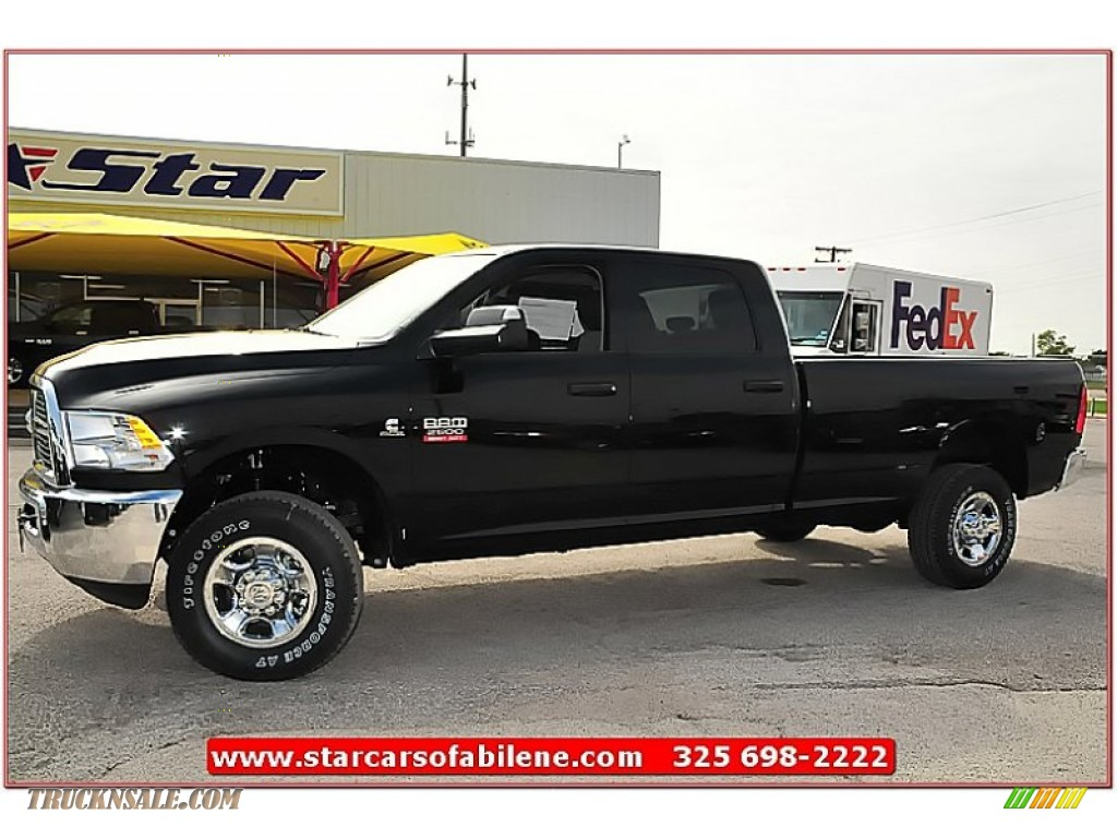 2012 Ram 2500 HD ST Crew Cab 4x4 - Black / Dark Slate/Medium Graystone photo #1