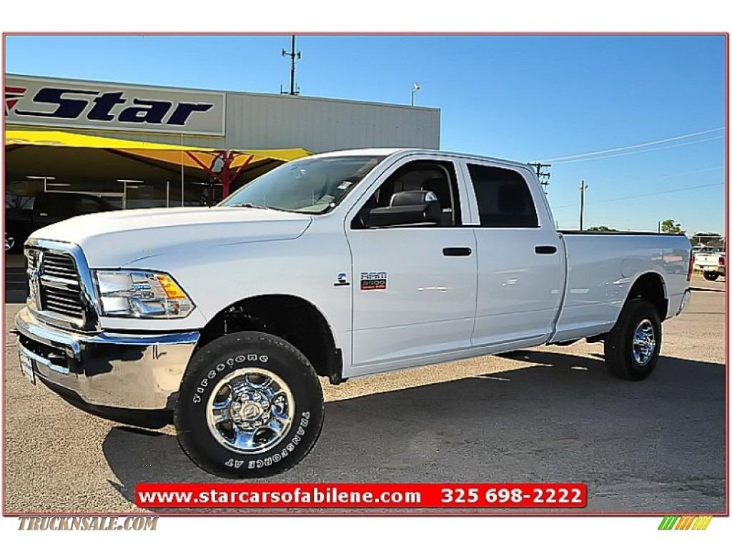 2012 dodge ram 3500 hd st crew cab 4x4 in bright white 314022 truck n 39 sale. Black Bedroom Furniture Sets. Home Design Ideas