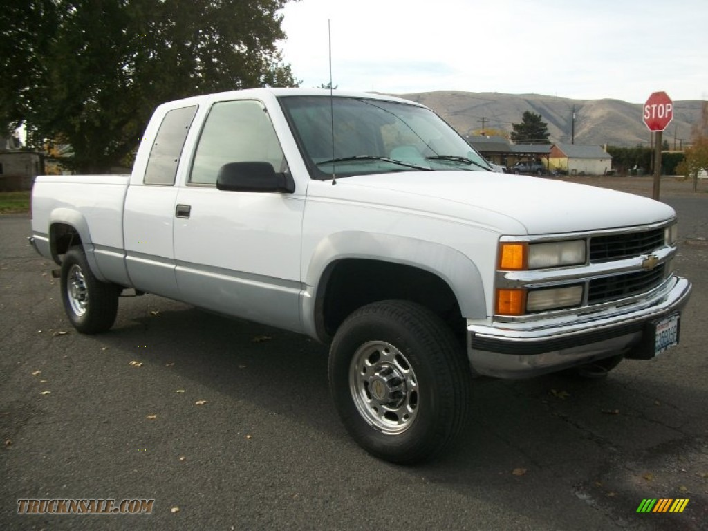 Pine Belt Chevy >> 1997 Chevrolet C/K 2500 K2500 Extended Cab 4x4 in Olympic White photo #8 - 123118 | Truck N' Sale