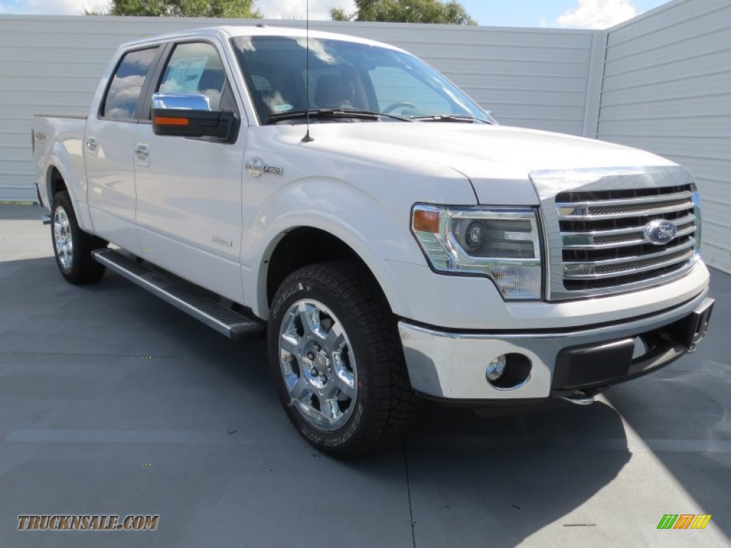 2013 ford f150 king ranch supercrew 4x4 in white platinum metallic tri coat d24529 truck n 39 sale. Black Bedroom Furniture Sets. Home Design Ideas