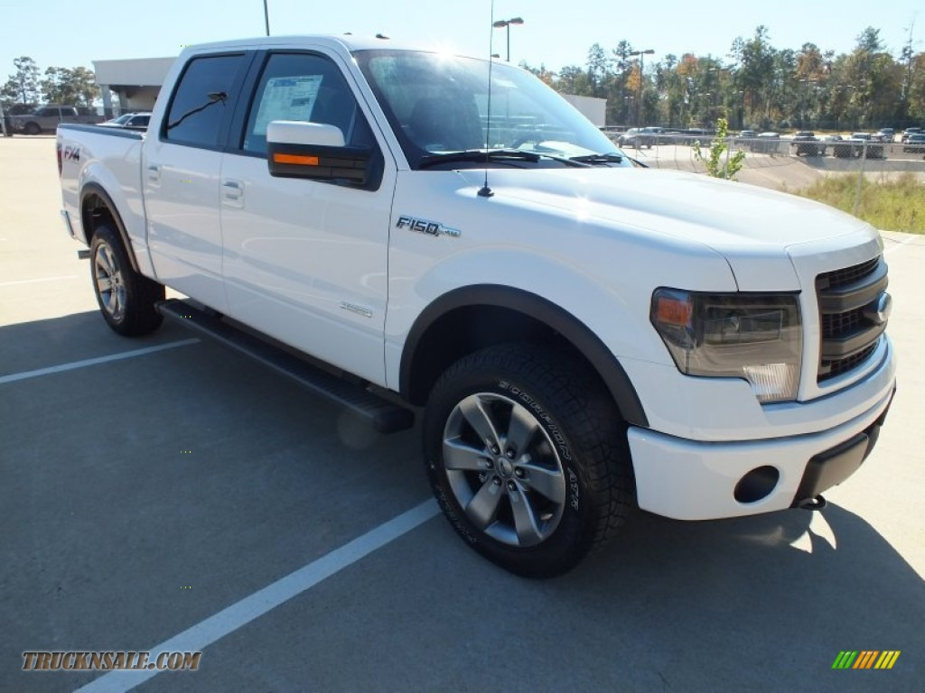 2013 ford f150 fx4 supercrew 4x4 in oxford white d41382 truck n 39 sale. Cars Review. Best American Auto & Cars Review
