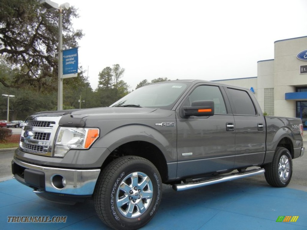 2013 ford f150 xlt supercrew 4x4 in sterling gray metallic d57992 truck n 39 sale. Black Bedroom Furniture Sets. Home Design Ideas