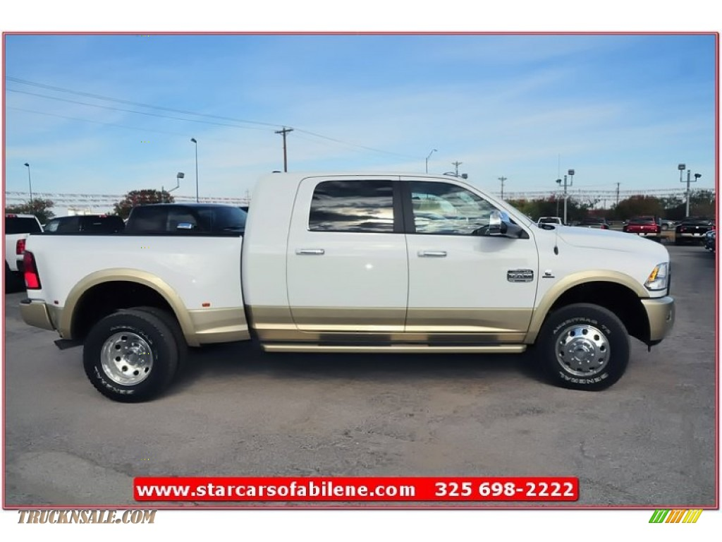 Ron Lewis Dodge >> 2012 Dodge Ram 3500 HD Laramie Longhorn Mega Cab 4x4 Dually in Bright White photo #9 - 302951 ...