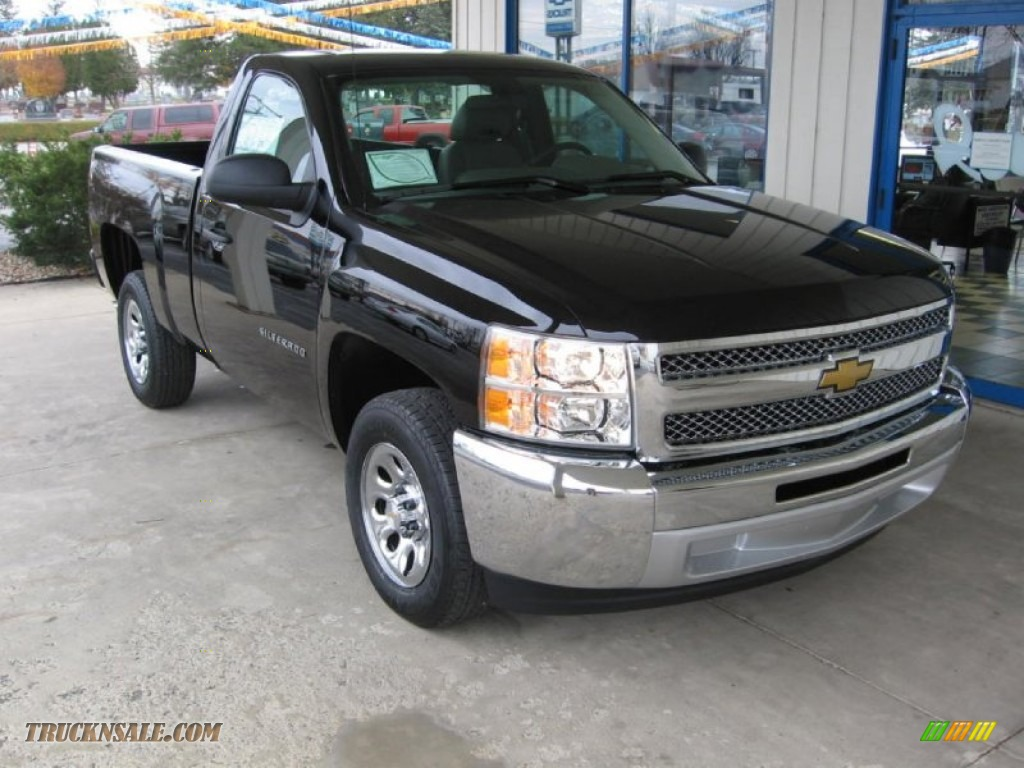 2013 Chevrolet Silverado 1500 Ls Regular Cab In Black