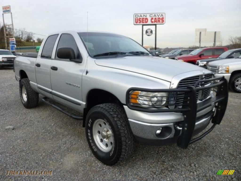 2002 dodge ram 1500 slt quad cab 4x4 in bright silver metallic 105605 truck n 39 sale. Black Bedroom Furniture Sets. Home Design Ideas