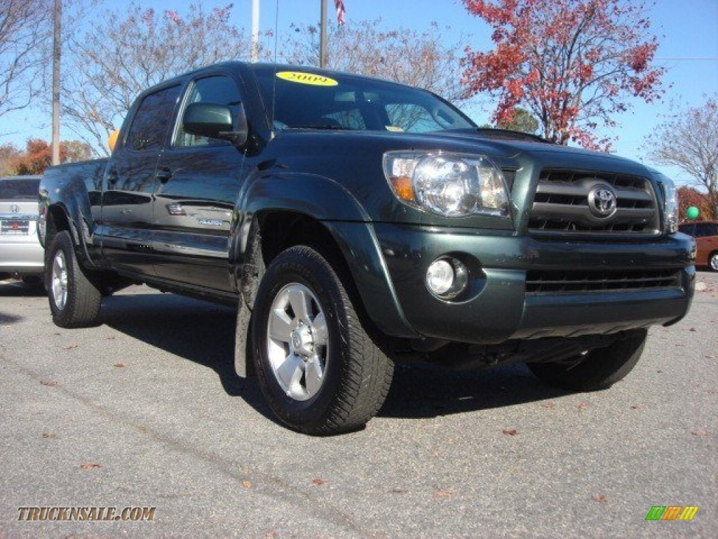 2009 toyota tacoma v6 prerunner double cab in timberland green mica 022641 truck n 39 sale. Black Bedroom Furniture Sets. Home Design Ideas