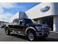 Ford F250 Super Duty Lariat Crew Cab 4x4 Kodiak Brown Metallic photo #1