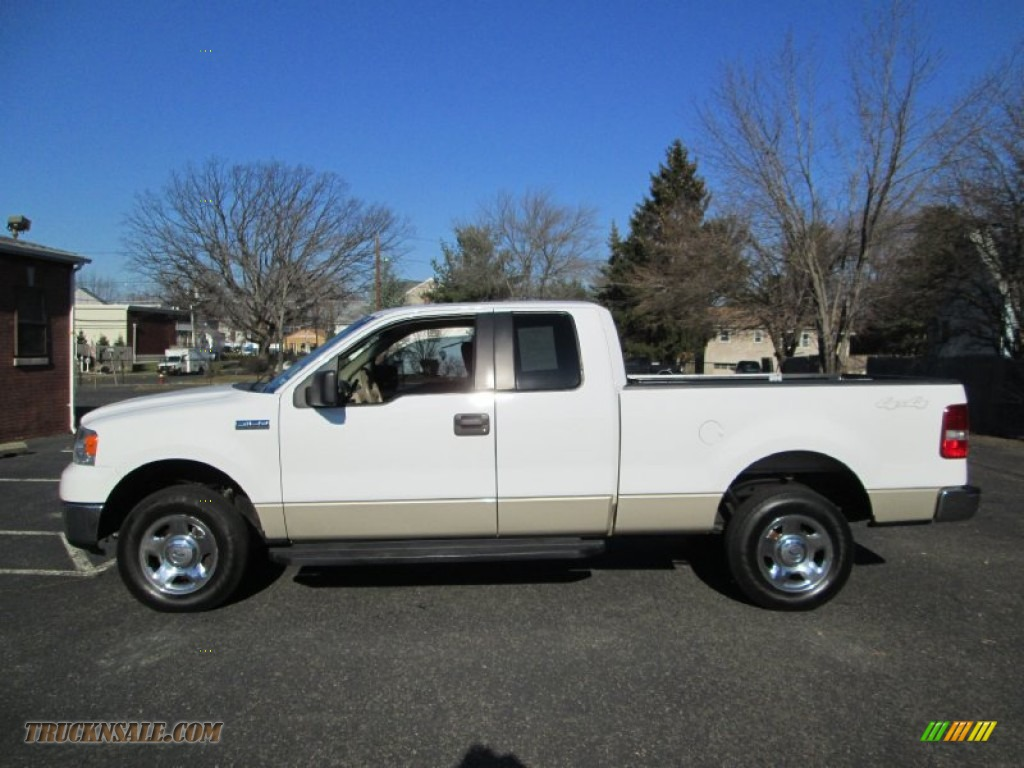 2007 Ford F150 Xlt Supercab 4x4 In Oxford White B71856