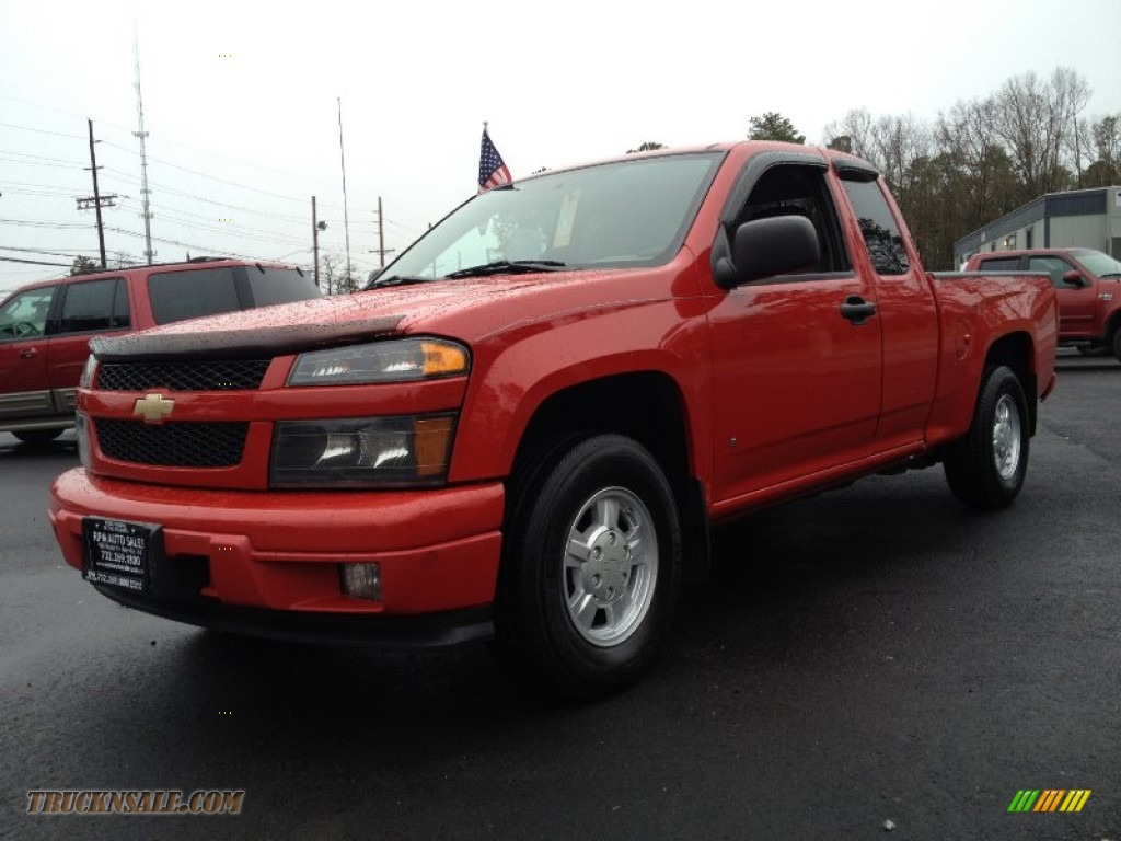 2007 chevrolet colorado ls extended cab in victory red. Black Bedroom Furniture Sets. Home Design Ideas