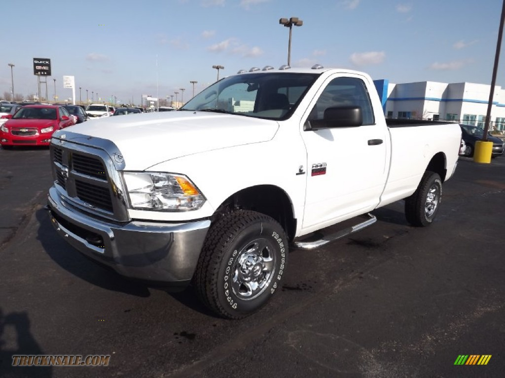 Ron Lewis Dodge >> 2012 Dodge Ram 2500 HD ST Regular Cab 4x4 in Bright White - 296390 | Truck N' Sale
