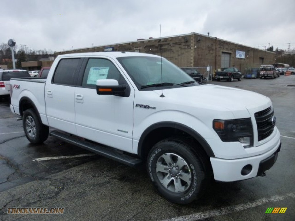 2013 ford f150 fx4 supercrew 4x4 in oxford white a36136 truck n 39 sale. Black Bedroom Furniture Sets. Home Design Ideas