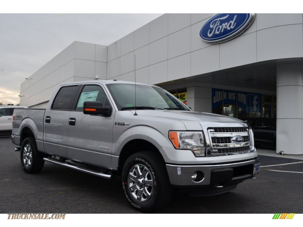 Ford 302A Package >> 2013 Ford F150 XLT SuperCrew 4x4 in Ingot Silver Metallic - B06251 | Truck N' Sale