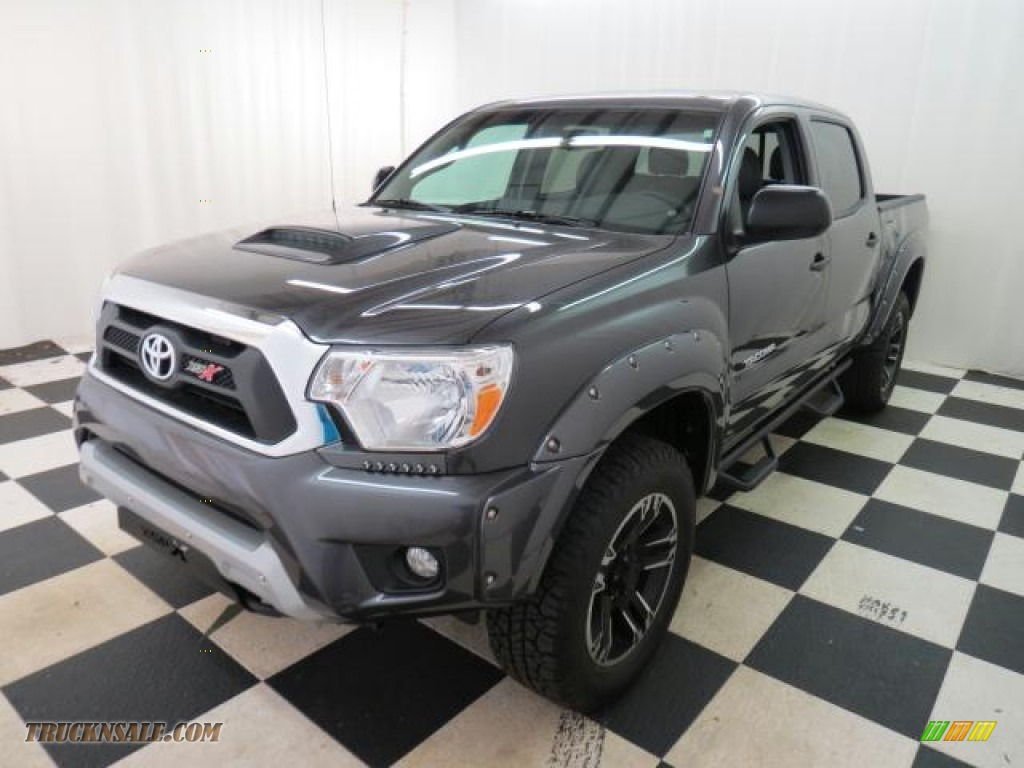 2013 toyota tacoma v6 trd sport prerunner double cab in magnetic gray metallic photo 3 030932. Black Bedroom Furniture Sets. Home Design Ideas