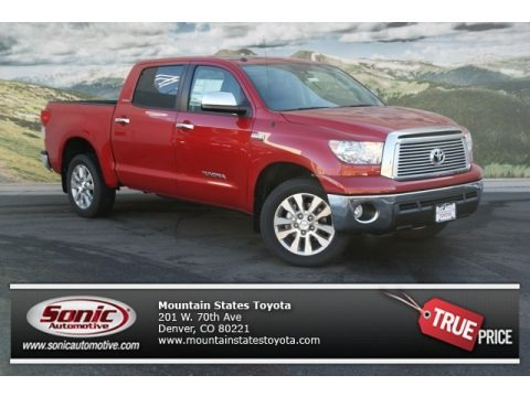 Barcelona Red Metallic 2013 Toyota Tundra Platinum CrewMax 4x4