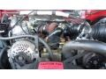 Ford F250 XLT Extended Cab 4x4 Bright Red photo #43