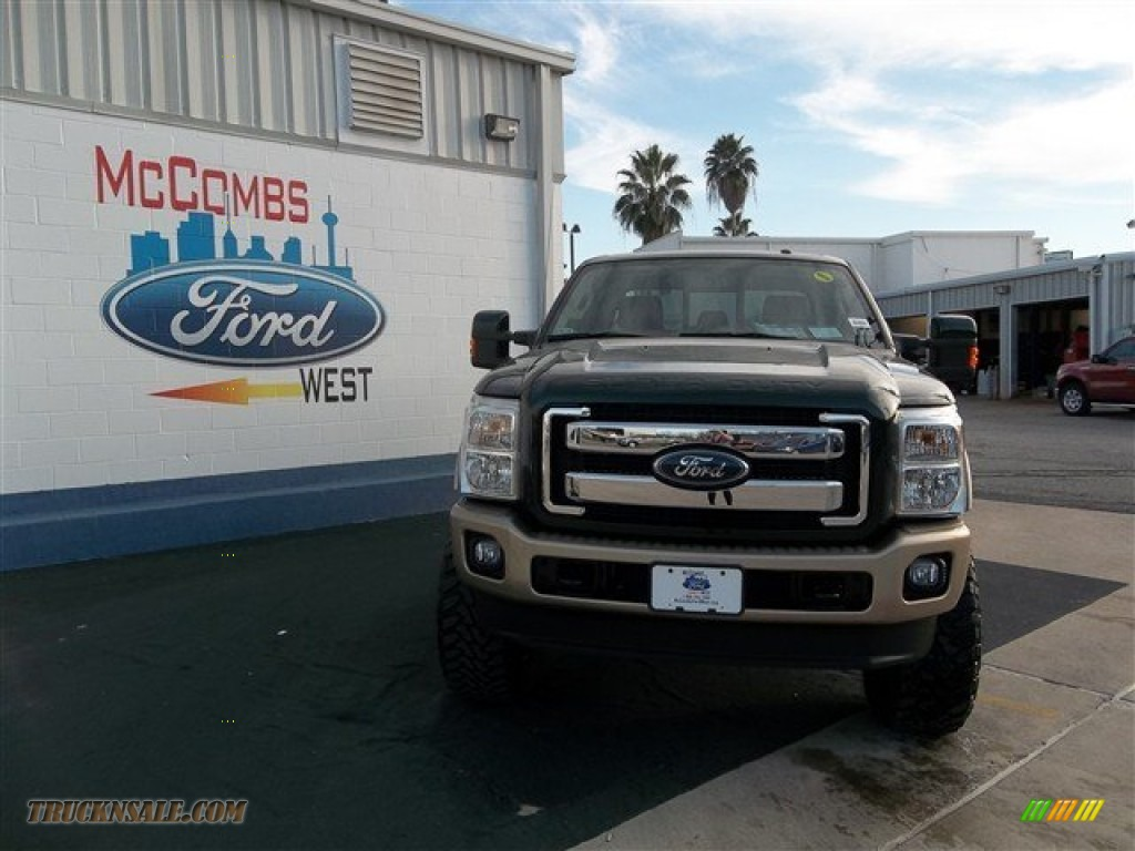 2013 ford f250 super duty king ranch crew cab 4x4 in green