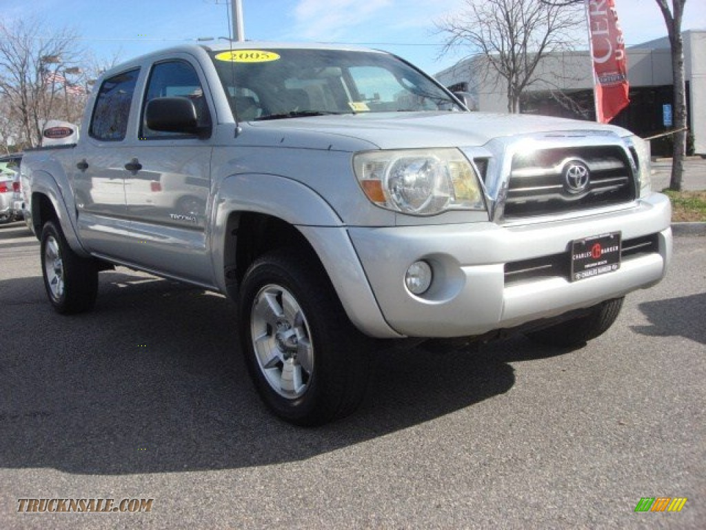 2005 toyota tacoma prerunner double cab in silver streak mica 007754 truck n 39 sale. Black Bedroom Furniture Sets. Home Design Ideas
