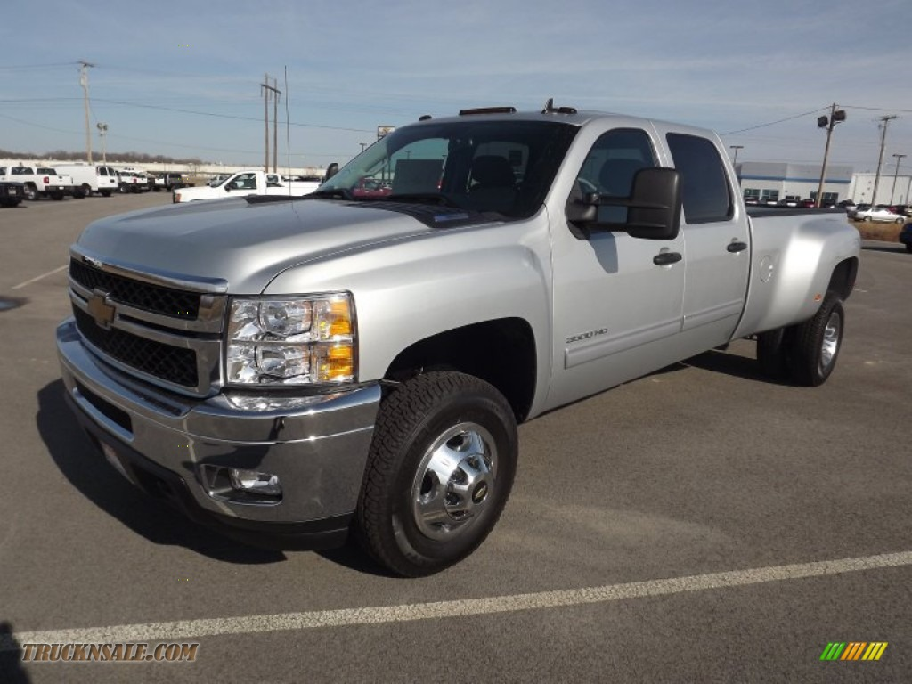 2013 Chevrolet Silverado 3500hd Lt Crew Cab 4x4 Dually In
