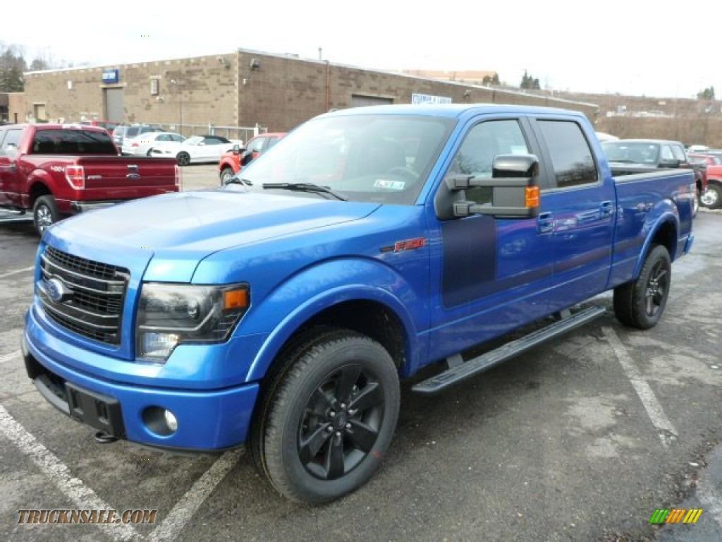 2013 ford f150 fx4 supercrew 4x4 in blue flame metallic photo 5 b07609 truck n 39 sale. Black Bedroom Furniture Sets. Home Design Ideas