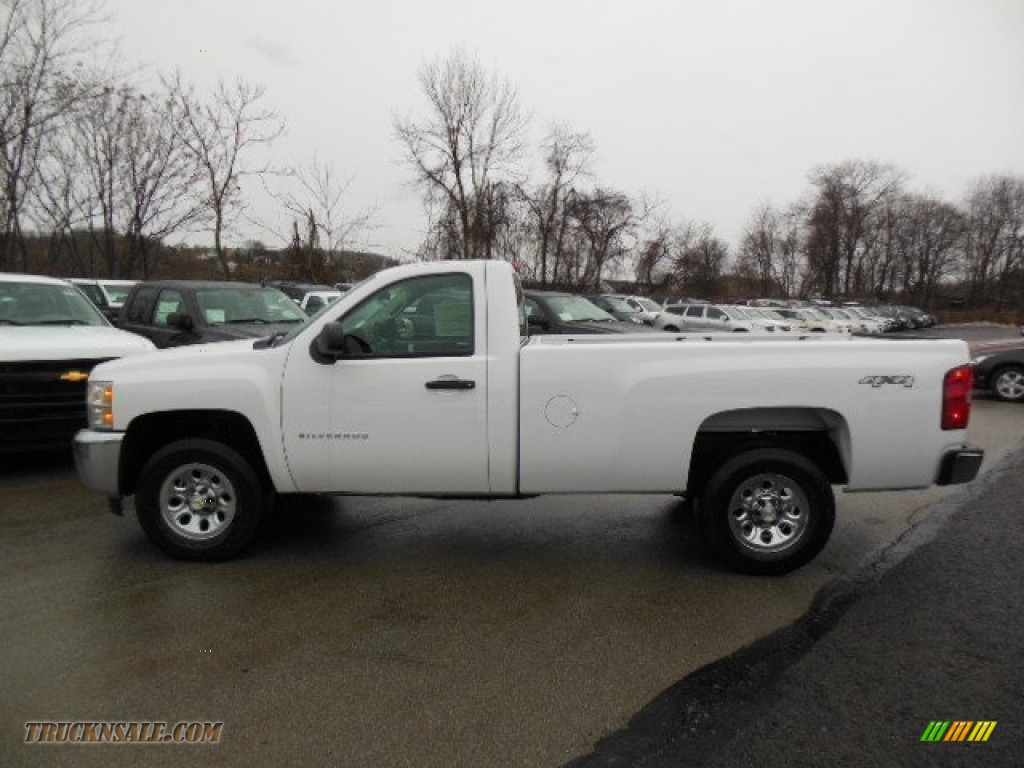 Pine Belt Chevy >> 2013 Chevrolet Silverado 1500 LS Regular Cab 4x4 in Summit White - 196943 | Truck N' Sale