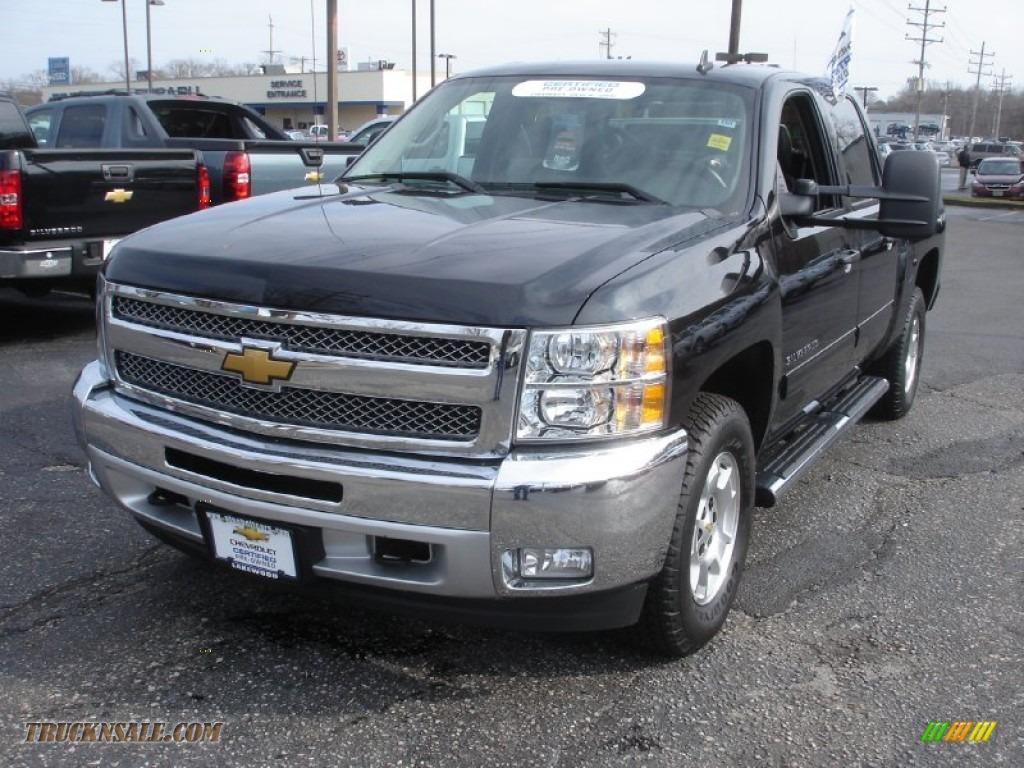 Pine Belt Chevrolet >> 2012 Chevrolet Silverado 1500 LT Crew Cab 4x4 in Black - 275126   Truck N' Sale