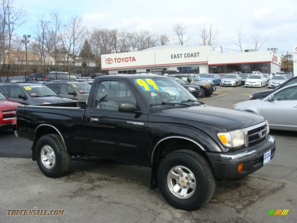 1999 Toyota Tacoma Regular Cab 4x4 In Black Metallic