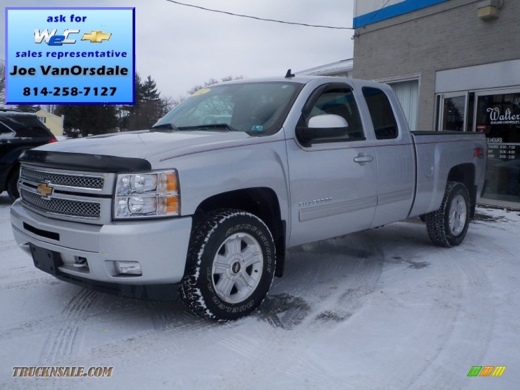 Silver ice metallic 2012 chevrolet silverado 1500 lt crew for Creek wood motor company