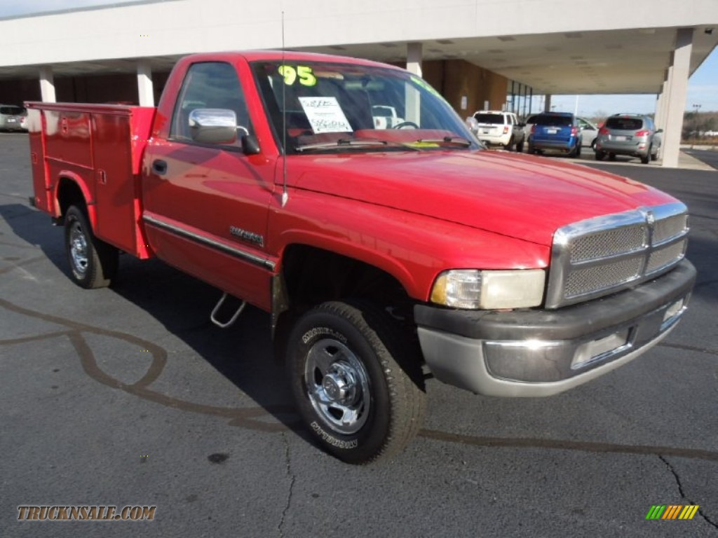 1995 Dodge Ram 2500 Slt Regular Cab 4x4 In Poppy Red