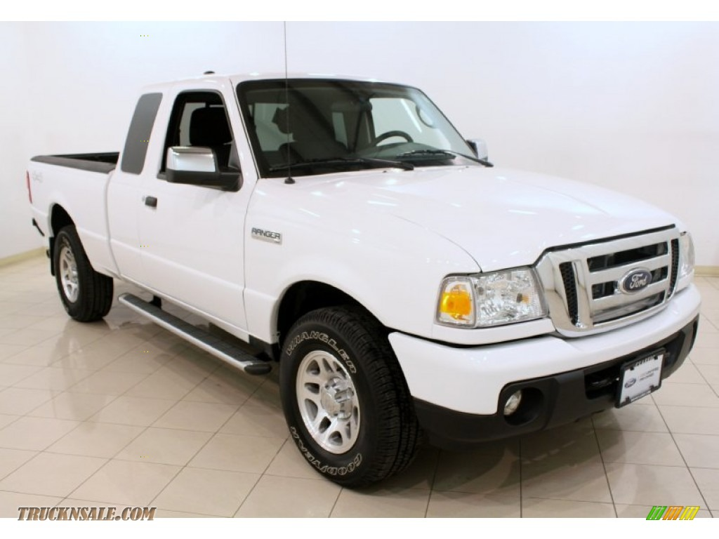 2011 ford ranger xlt supercab 4x4 in oxford white a97020. Black Bedroom Furniture Sets. Home Design Ideas