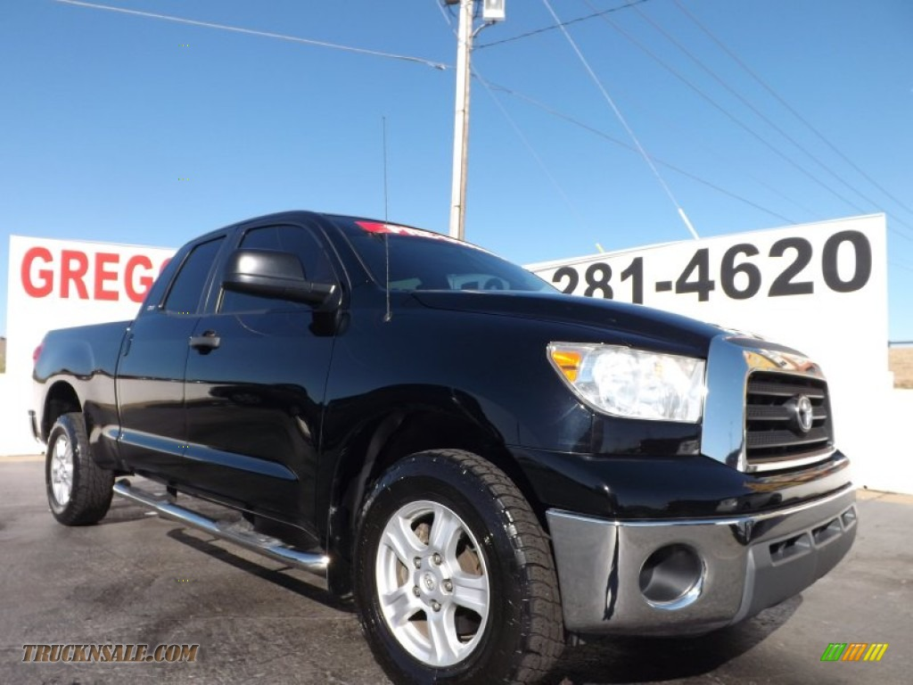 2007 Toyota Tundra Sr5 Double Cab In Black 013991