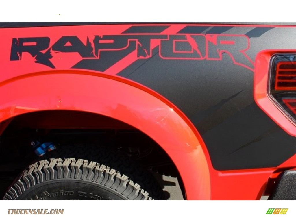 2012 Ford F150 Svt Raptor Supercrew 4x4 In Race Red Photo