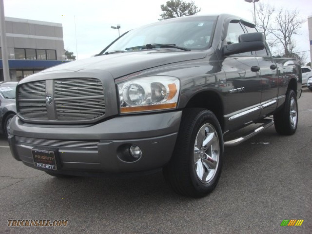 2006 dodge ram 1500 sport quad cab 4x4 in mineral gray metallic 568880 truck n 39 sale. Black Bedroom Furniture Sets. Home Design Ideas