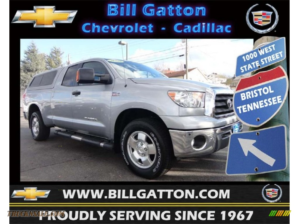 2008 toyota tundra sr5 trd double cab 4x4 in silver sky metallic 073759 truck n 39 sale. Black Bedroom Furniture Sets. Home Design Ideas