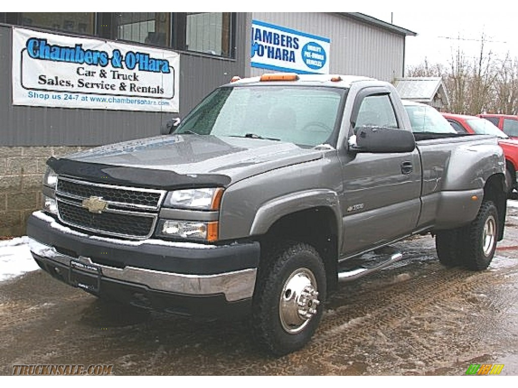 2006 Chevrolet Silverado 3500 Lt Regular Cab 4x4 Dually In