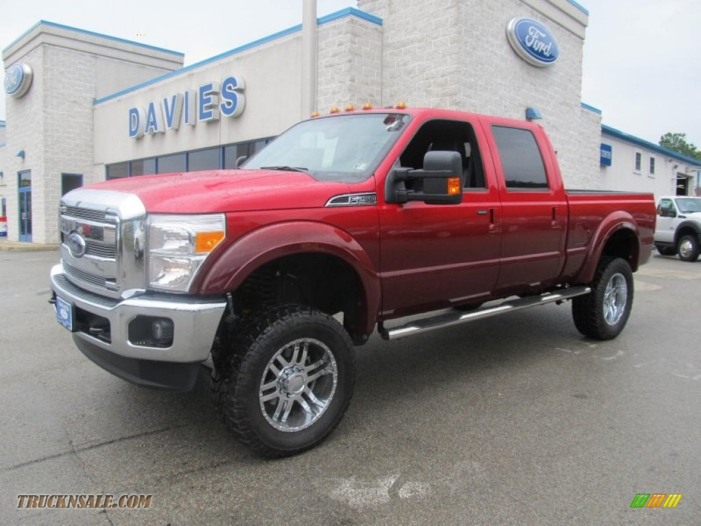 2012 Ford F250 Super Duty Lariat Crew Cab 4x4 In