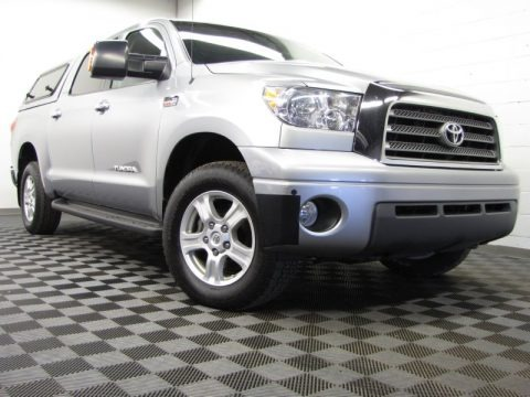 Silver Sky Metallic 2009 Toyota Tundra Limited CrewMax 4x4