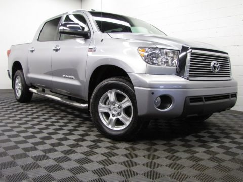 Silver Sky Metallic 2010 Toyota Tundra Limited CrewMax 4x4