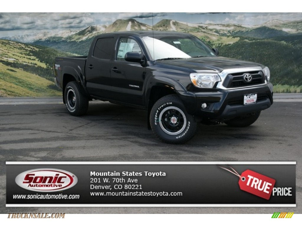 2013 Toyota Tacoma Tx Pro Double Cab 4x4 In Black 118059