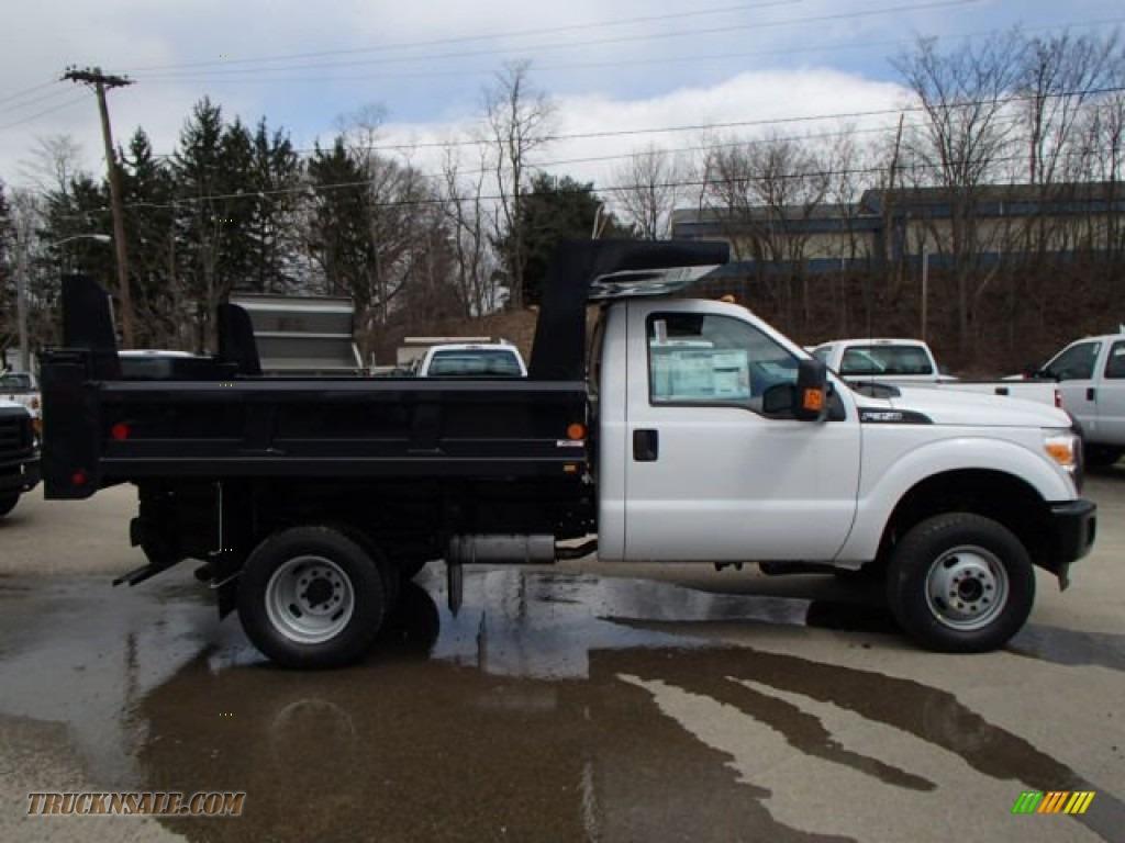 2013 Ford F350 Super Duty Xl Regular Cab 4x4 Dump Truck In