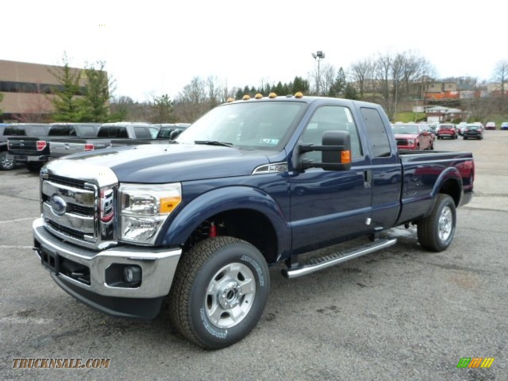 2013 Ford F250 Super Duty Xlt Supercab 4x4 In Blue Jeans