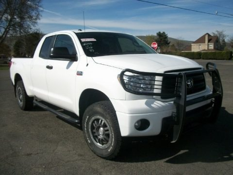 Super White 2010 Toyota Tundra TRD Rock Warrior Double Cab 4x4