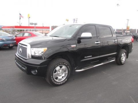 Black 2010 Toyota Tundra Limited CrewMax 4x4