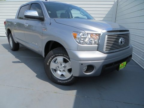 Silver Sky Metallic 2013 Toyota Tundra Limited CrewMax 4x4