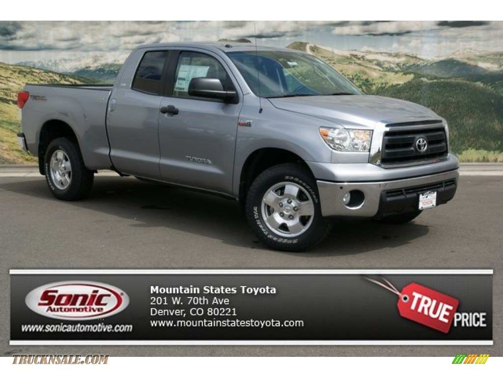 2013 Toyota Tundra Sr5 Trd Double Cab 4x4 In Silver Sky